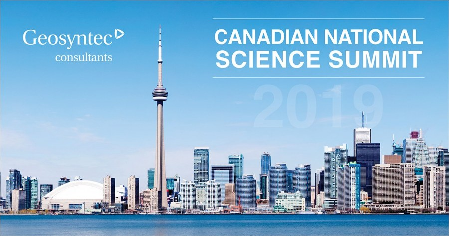 Geosyntec to Present on Vapor Intrusion at the Canadian National Science Summit 2019