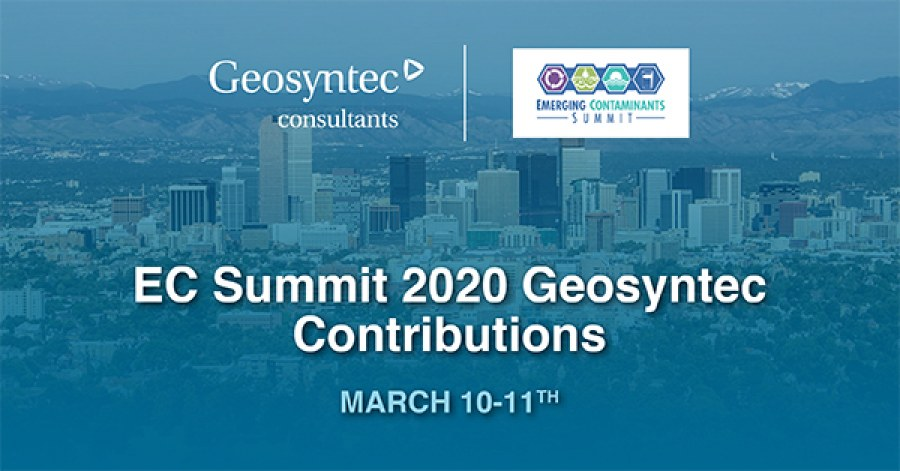 Geosyntec Staff Featured at the Emerging Contaminants Summit 2020
