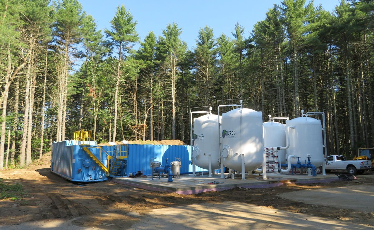 Geosyntec fast-tracked the design, permitting, and construction of a one million gallon per day treatment system to remove PFAS for a municipal drinking water system.