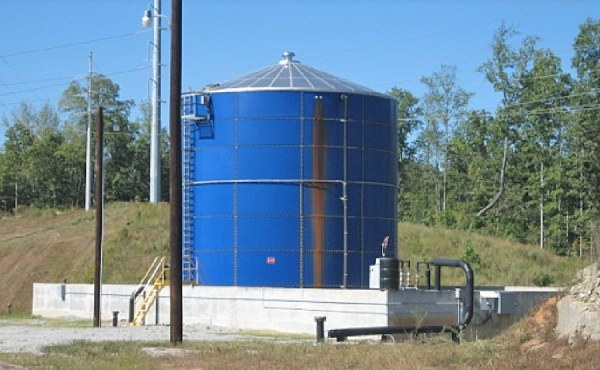 Geosyntec designed a leachate treatment system to eliminate parameter-specific surcharges from the local POTW.