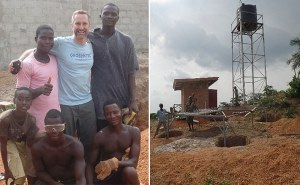 The New England Branch Designs an Off-grid Water Supply for a School in Rural Liberia