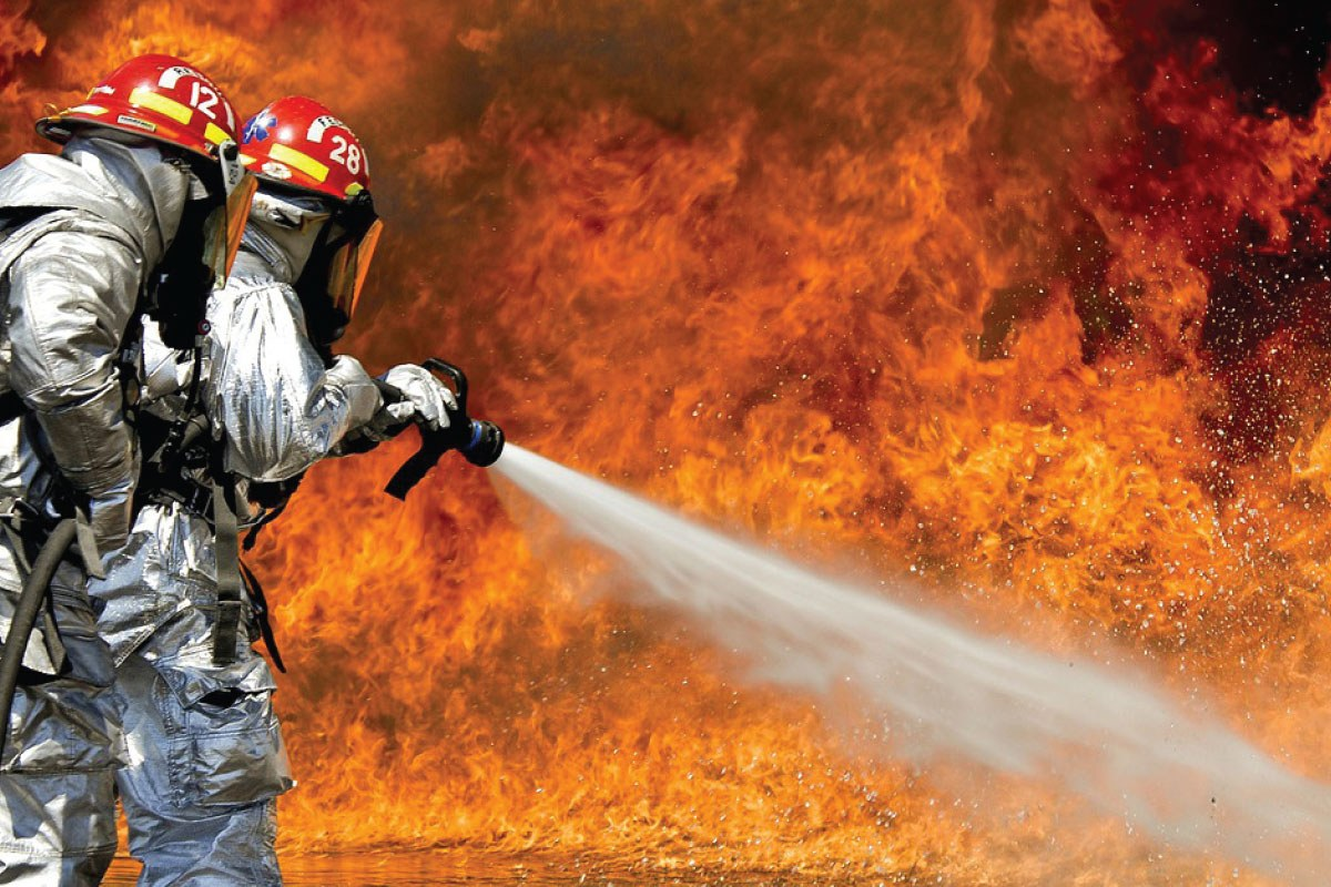 Aqueous Film Forming Foam used for fire suppression contains PFAS