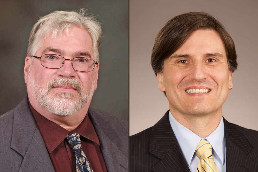 Jim Linton and Herwig Goldemund Presented on Phytoremediation at Southeastern Utility