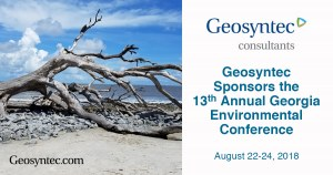 Geosyntec Sponsors the 13th Annual Georgia Environmental Conference