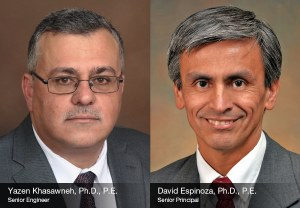 Yazen Khasawneh and David Espinoza to Present at the Purdue Geotechnical Society Annual Workshop