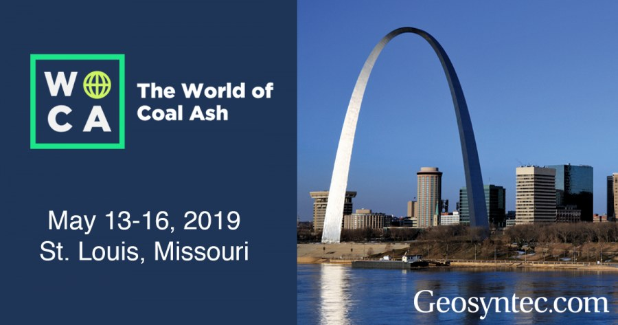 Geosyntec Staff Contribute to the World of Coal Ash 2019
