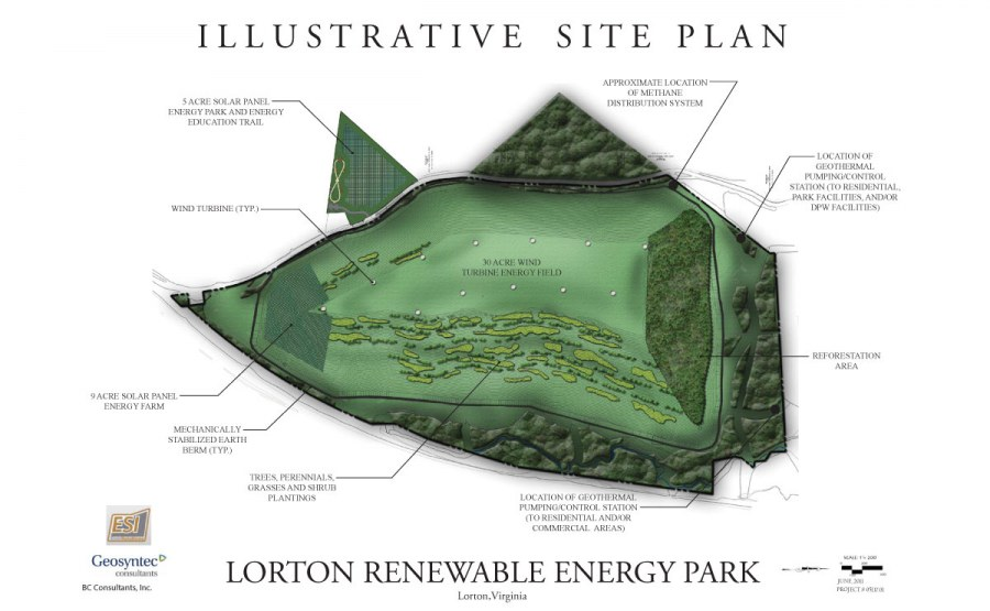 Feasibility Study for Renewable Energy Technologies at the Lorton Energy Park