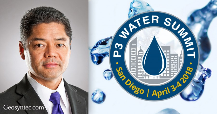Ken Susilo to Lead Discussions on Stormwater Management at P3 Water Summit