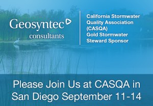 Geosyntec to Present at CASQA