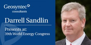 Darrell Sandlin Presenting at the 39th World Energy Congress