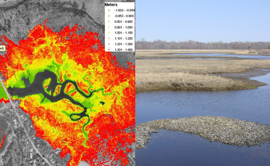 Geosyntec was part of a team that developed a reliable tool to help coastal managers predict changes in coastal salt marshes as a result of various restoration efforts.