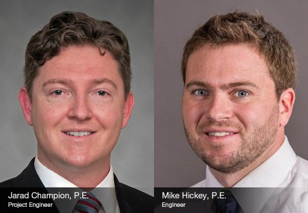 Jarad Champion and Mike Hickey Present at AIChE Midwest Regional Conference