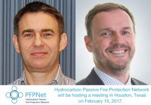 Hydrocarbon Passive Fire Protection Network Meeting in Houston, Texas