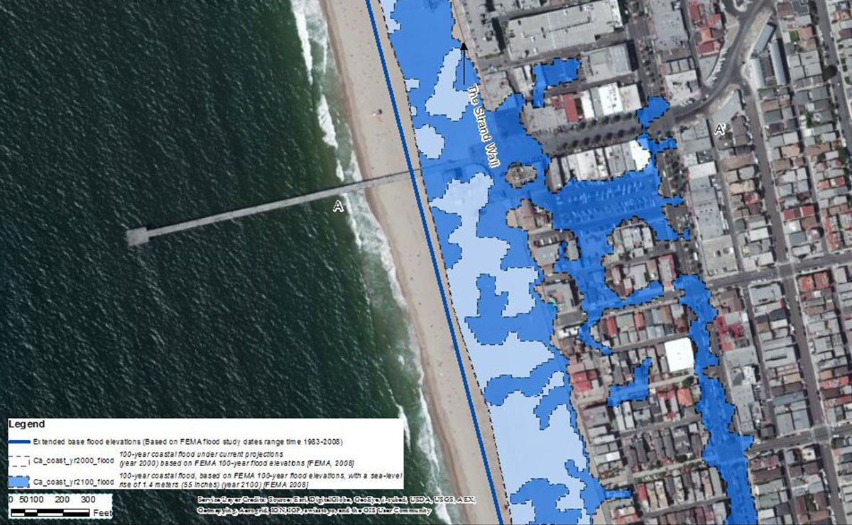 Climate Ready Grant Focused Infrastructure Vulnerability Assessment for Hermosa Beach, California