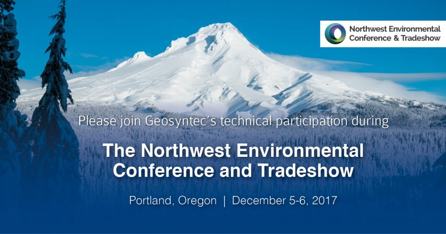 Geosyntec Technical Participation at the Northwest Environmental Conference & Tradeshow