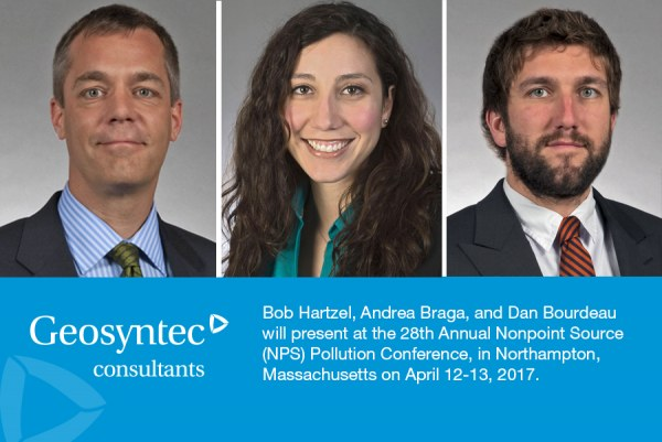 Bob Hartzel, Andrea Braga, and Dan Bourdeau to Present at Nonpoint Source Pollution Conference