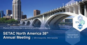 Geosyntec Technical Participation at SETAC North America 38th Annual Meeting