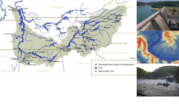 Geosyntec provided services to TVA River Operations, such as unsteady hydraulic modeling, to develop flood inundation maps used for Emergency Action Plan updates.