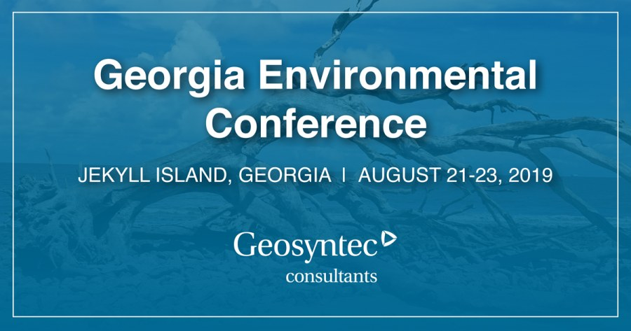 Geosyntec Practitioners to Speak at Georgia Environmental Conference