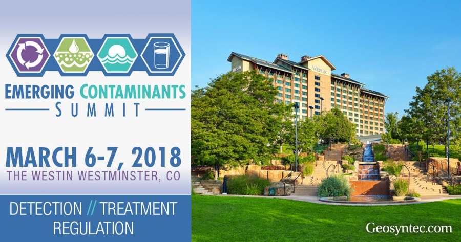 Geosyntec Staff to Present at Emerging Contaminants Summit in Colorado
