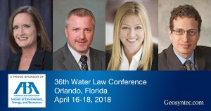 Geosyntec to Attend American Bar Association's 36th Water Law Conference
