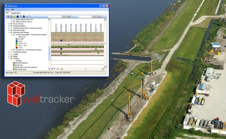 "Herbert Hoover Dike Rehabilitation - ""WallTracker"""