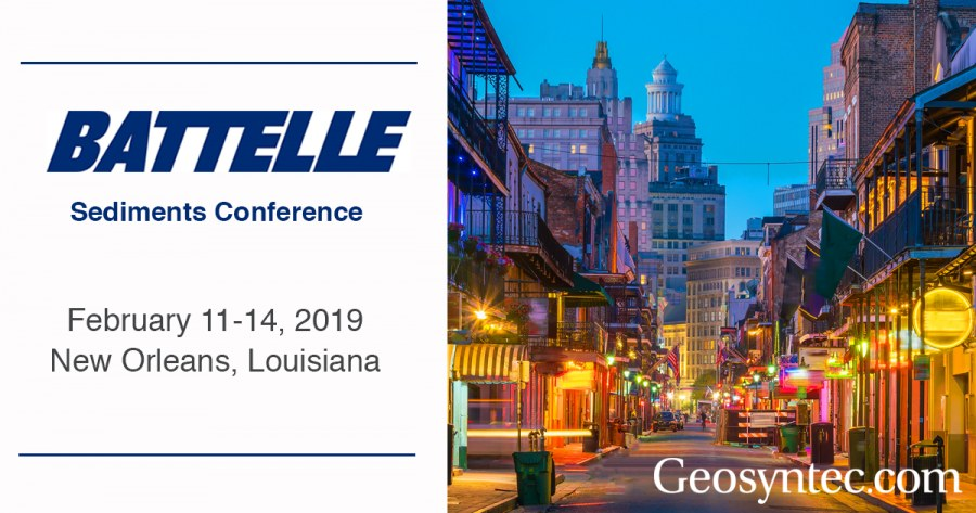 Geosyntec Staff Contribute to the 2019 Battelle Sediments Conference