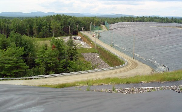 Geosyntec's design plan incorporated a mile-long MSE wall adjacent to the new lined landfill, allowing an additional 4.5 million cubic yards of capacity.