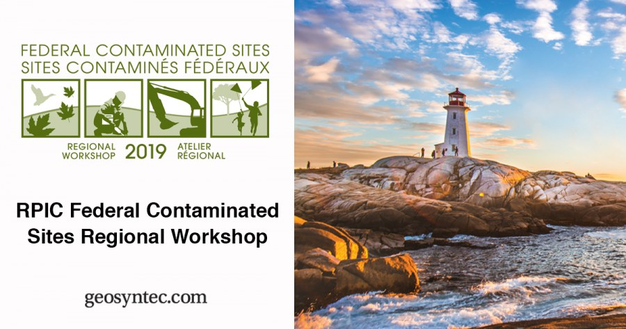 Geosyntec is Making Technical Contributions on PFAS and Other Emerging Contaminants to the 2019 RPIC Federal Contaminated Sites Regional Workshop in Halifax, Nova Scotia